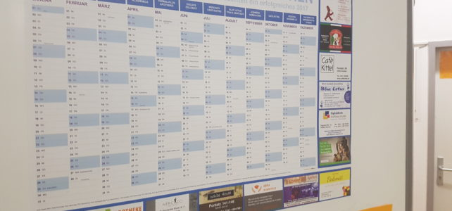 alpha academica auf dem Aachener Uni-Kalender