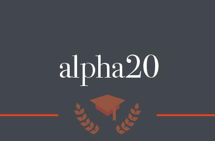 Die neue alpha20 – Kundenkarte